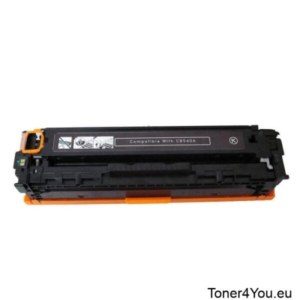 Compatible toner cartridge for HP CB540A (125A) Black