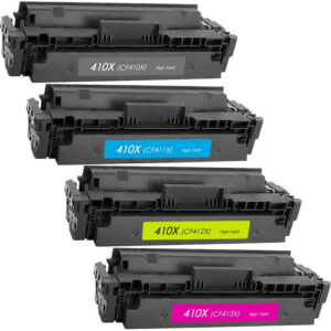 Compatible toner cartridge for HP 410X (BK/C/M/Y)
