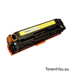 Compatible toner cartridge for HP CB542A (125A) yellow