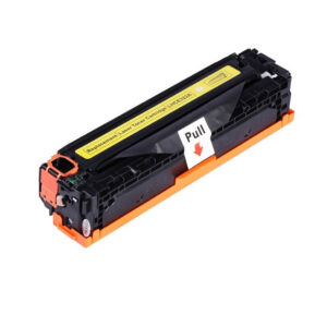 Compatible toner cartridge for HP CE322A (128A) yellow